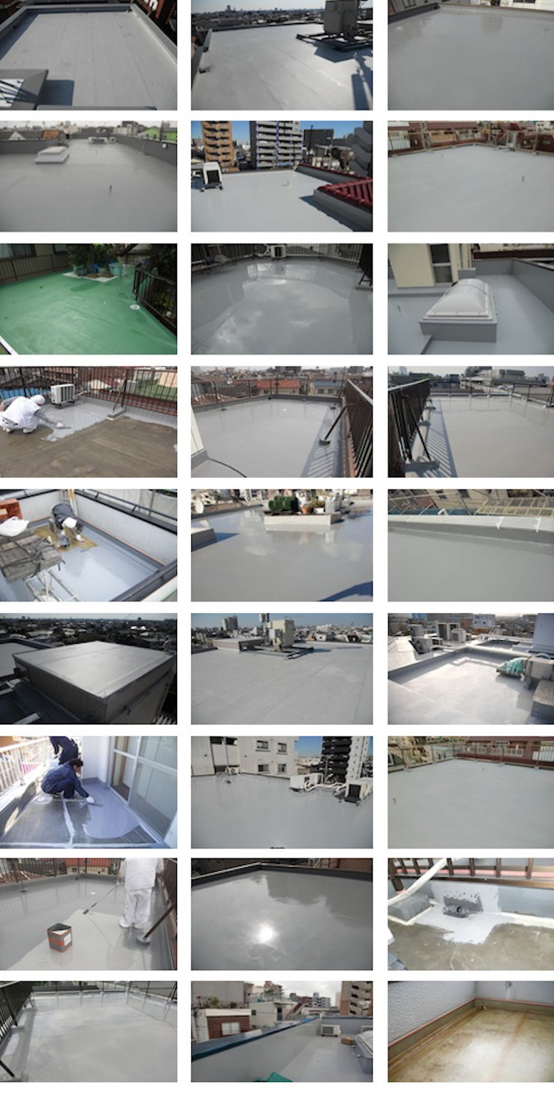 防水,雨漏り,屋根,補修工事